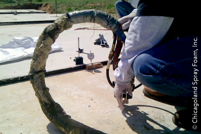 Using Spray Polyurethane Spray Foam to Slab Jack instead of Mud Jacking